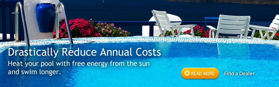 Solar pool heater dealer information
