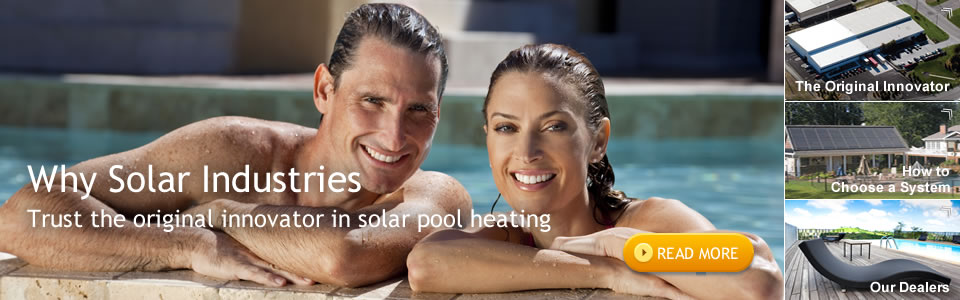 Solar pool heater links