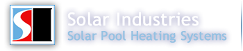 Affordable swimming pool heater! Solar heating pool heaters, pool heat pumps and pool heaters by Solar Industries.